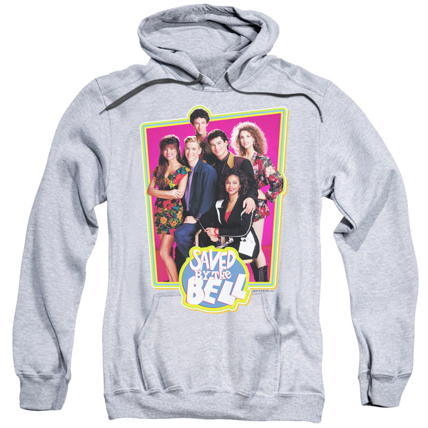 Saved By The Bell Cast Photo Pullover Hoodie