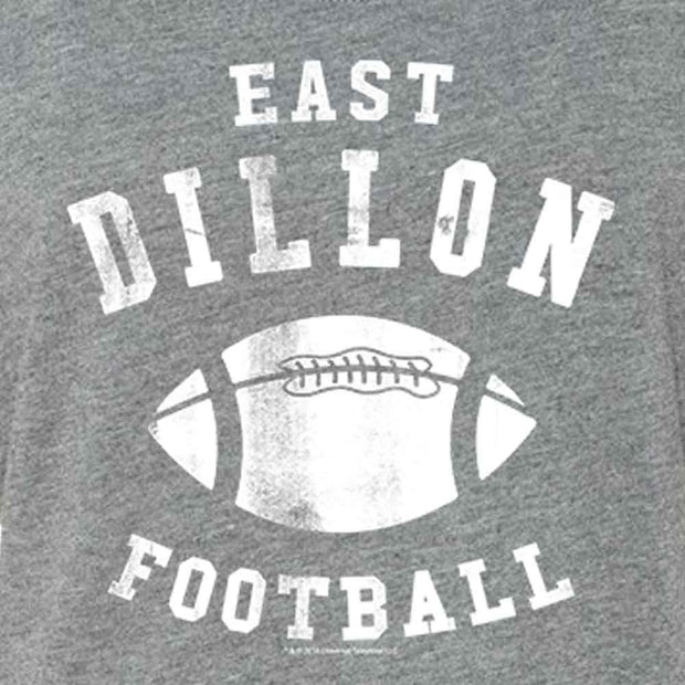 Friday Night Lights East Dillon Football Women's Tri-Blend Dolman T-Shirt