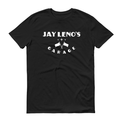 Jay Leno's Garage Original Vertical Logo Men's T-Shirt