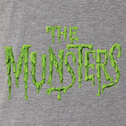 The Munsters Distress Logo Men's Tri-Blend Short Sleeve T-Shirt