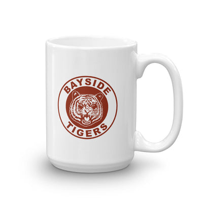 Saved By The Bell Bayside Tigers White Mug