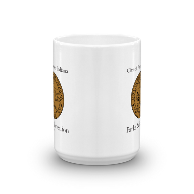 Parks and Recreation City of Pawnee White Mug
