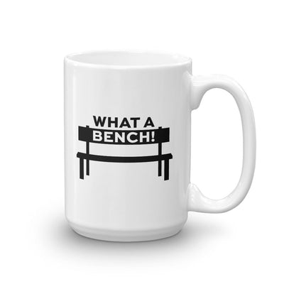 The Good Place What a Bench White Mug