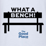 The Good Place What a Bench Baseball T-Shirt