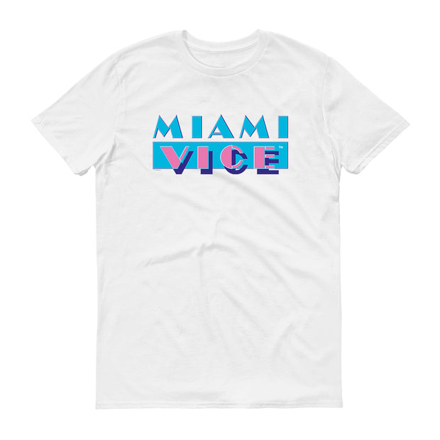 Miami Vice Logo Women's Short Sleeve T-Shirt