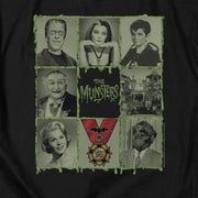 The Munsters Blocks Short Sleeve T-Shirt