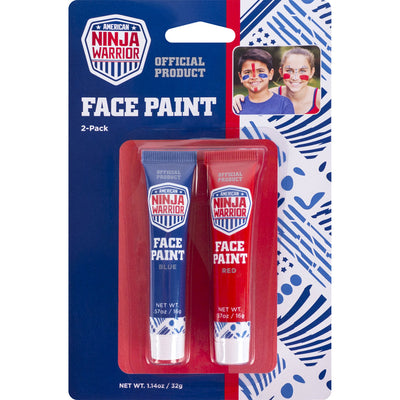 American Ninja Warrior Face Paint