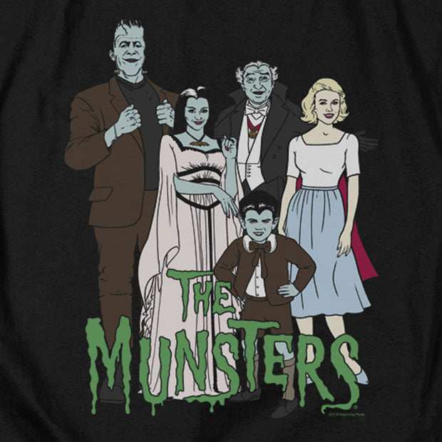 The Munsters The Family Tank Top
