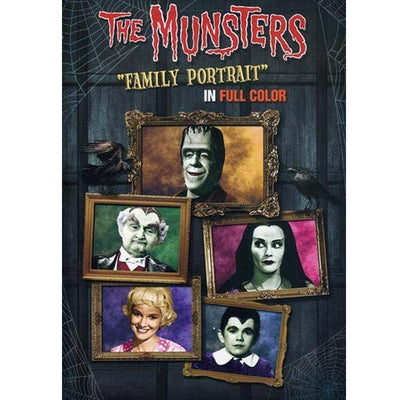 The Munsters - Family Portrait in Full Color DVD