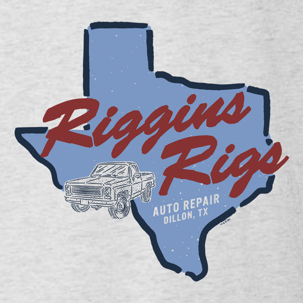 Friday Night Lights Riggins Rigs Men's Tri-Blend Short Sleeve T-Shirt