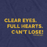 Friday Night Lights Clear Eyes Men's Short Sleeve T-Shirt