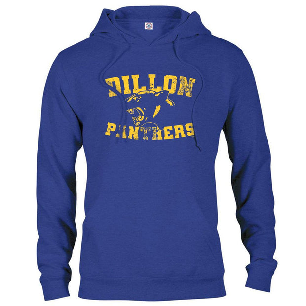 Friday Night Lights Dillon Panthers Hooded Sweatshirt-Royal-Small