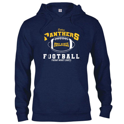 Friday Night Lights Dillon Panthers State Champs Hooded Sweatshirt