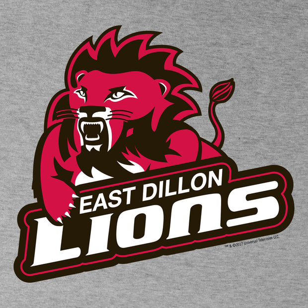 Friday Night Lights East Dillon Lions Men's Tri-Blend Short Sleeve T-Shirt