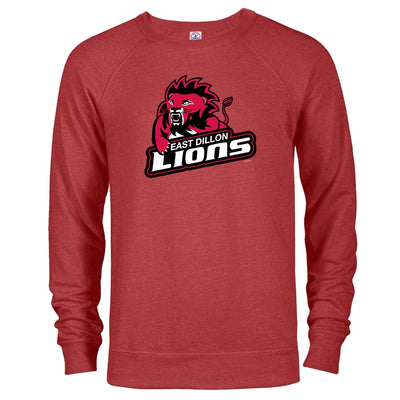 Friday Night Lights East Dillon Lions Lightweight Crew Neck Sweatshirt