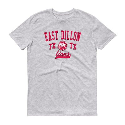 Friday Night Lights East Dillon TX Lions Men's Short Sleeve T-Shirt