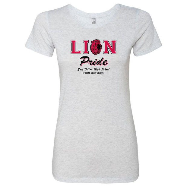 Friday Night Lights Lion Pride Women's Tri-Blend Short Sleeve T-Shirt