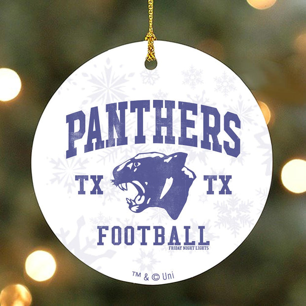 Friday Night Lights Panthers Ornament
