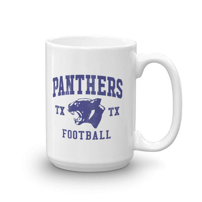 Friday Night Lights Panthers White Mug