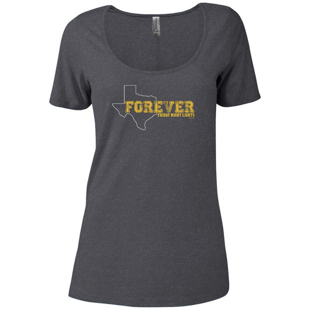 Friday Night Lights Texas Forever Women's Relaxed Scoop Neck T-Shirt