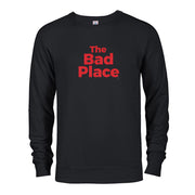 The Good Place The Bad Place Lightweight Crew Neck Sweatshirt