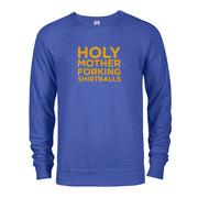The Good Place Holy Mother Forking Shirtballs Lightweight Crew Neck Sweatshirt