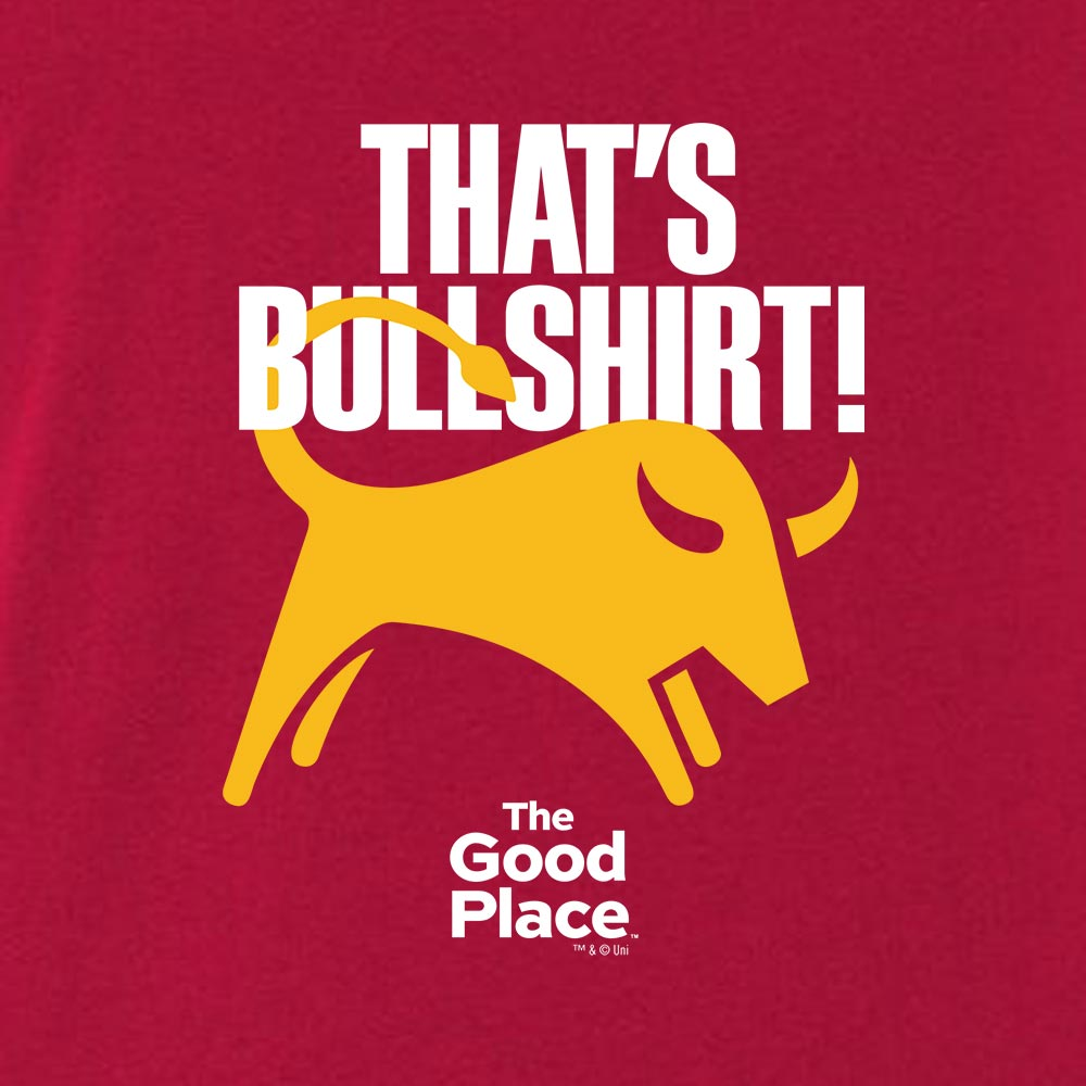 The Good Place That's Bullshirt Unisex Tank Top-secondary-image