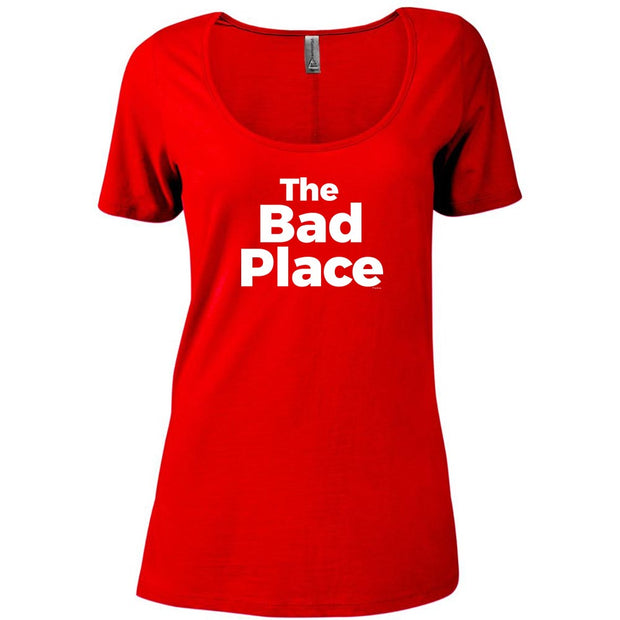 The Good Place The Bad Place Women's Relaxed Scoop Neck T-Shirt