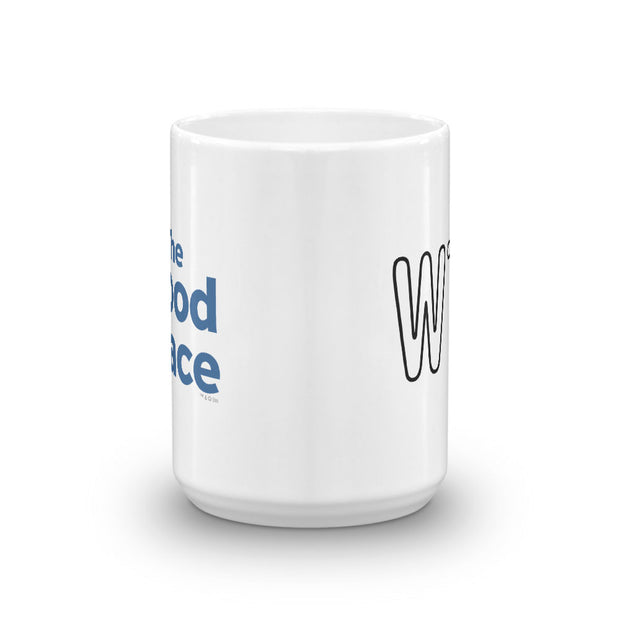 The Good Place WTFork White Mug