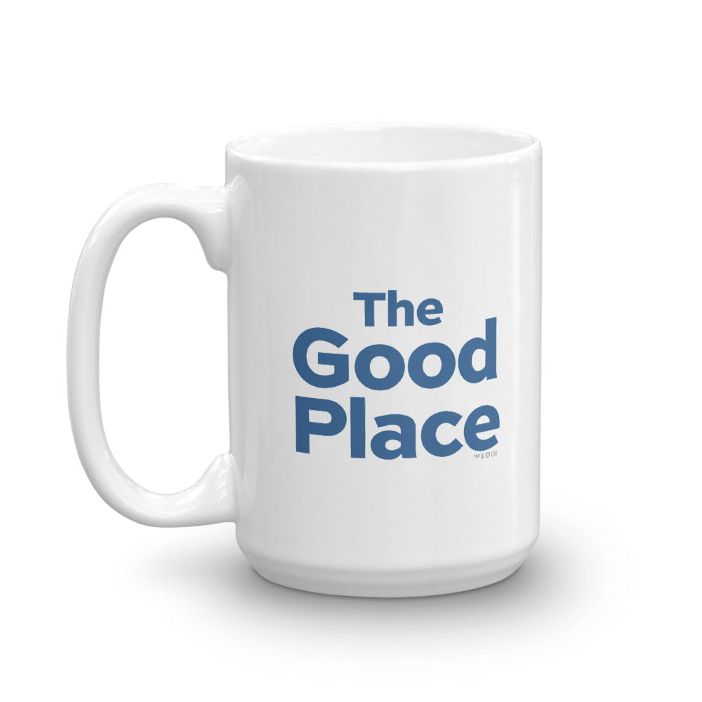 The Good Place WTFork White Mug-secondary-image