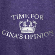Brooklyn Nine-Nine Gina's Opinion Lightweight Zip Up Hooded Sweatshirt