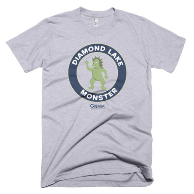 Grimm Diamond Lake Monster  Men's Short sleeve T-Shirt
