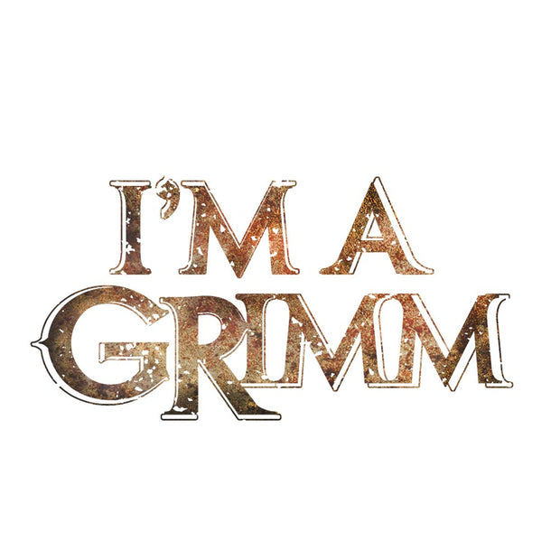 Grimm I'm A Grimm White and Black Mug