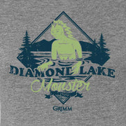 Grimm Diamond Lake Monster Women's Short Sleeve T-Shirt