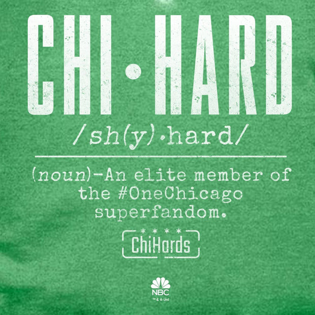 Chi-Hards Definition St. Paddy's Day Lightweight Hooded Sweatshirt