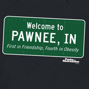 Parks and Recreation Pawnee Sign Hooded Sweatshirt