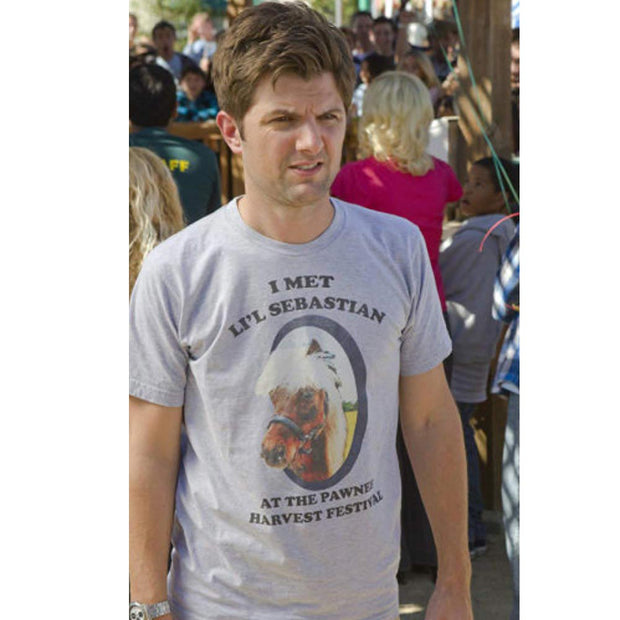 Parks and Recreation Li'l Sebastian Men's Short Sleeve T-Shirt