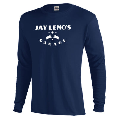 Jay Leno's Garage Original Vertical Logo Sleeve T-Shirt