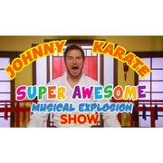 Parks and Recreation Johnny Karate Musical Explosion Show Men's T-Shirt