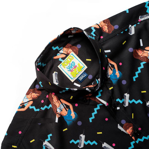 Saved By The Bell Kelly Kapowski Button Down Shirt