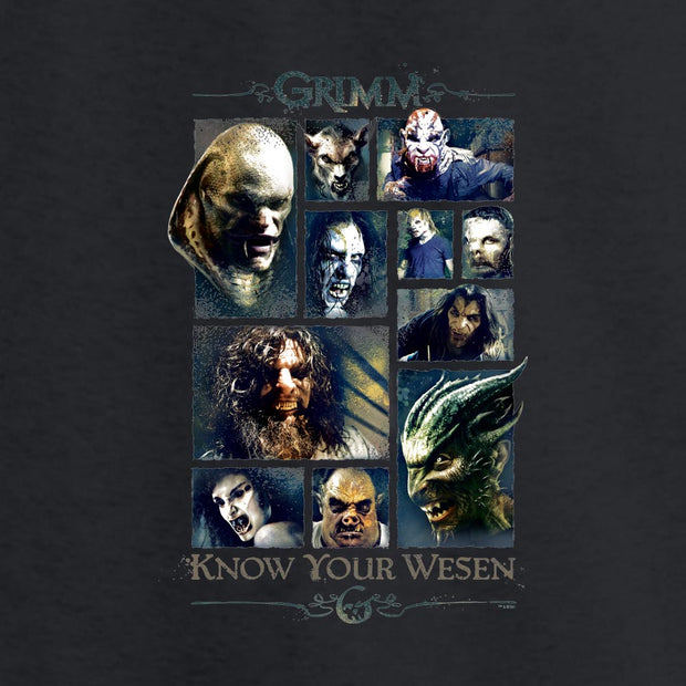 Grimm Know Your Wesen Long Sleeve T-Shirt