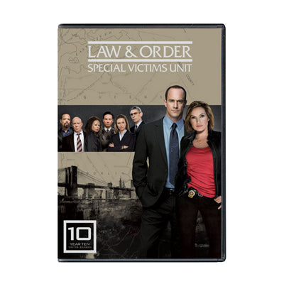 Law and Order - SVU Season 10 DVD