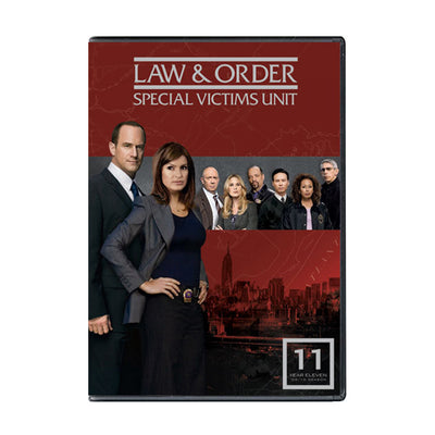 Law and Order - SVU Season 11 DVD