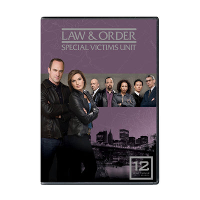 Law and Order - SVU Season 12 DVD