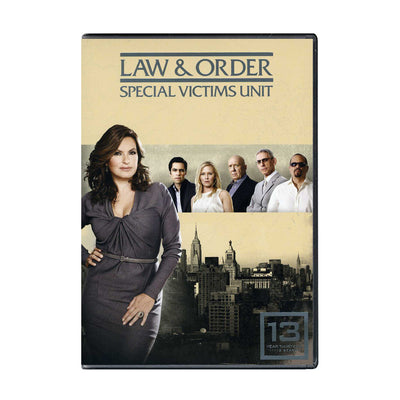 Law and Order - SVU Season 13 DVD