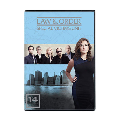 Law and Order - SVU Season 14 DVD