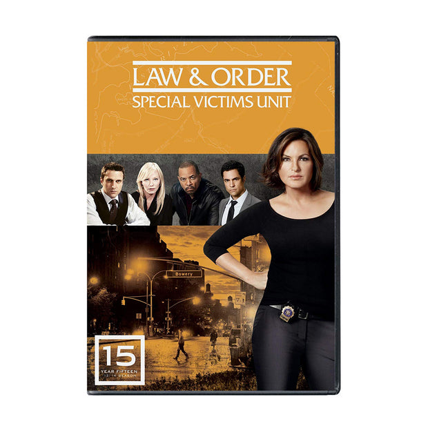 Law and Order - SVU Season 15 DVD