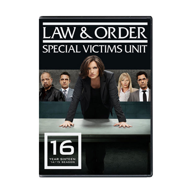 Law and Order - SVU Season 16 DVD