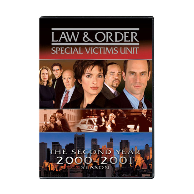 Law and Order - SVU Season 2 DVD