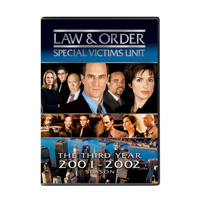 Law and Order - SVU Season 3 DVD